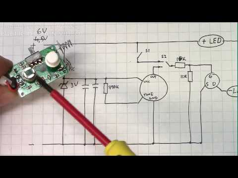 RECORDED STREAM: Hacking a Clas Ohlson motion sensor LED strip (w/ schematic)