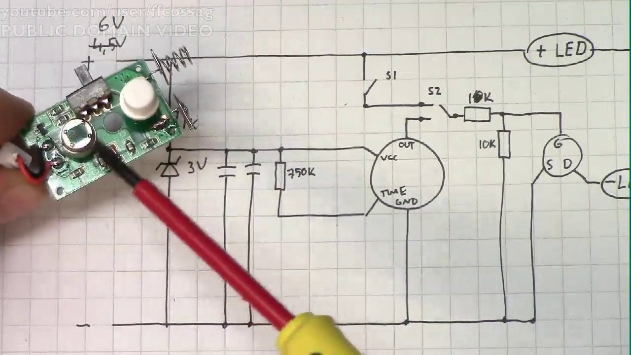Motion Sensor With Led Schematic Trusted Wiring Diagrams Light Diagram Likewise Pir Circuit Recorded Stream Hacking A Clas Ohlson Strip W Switch