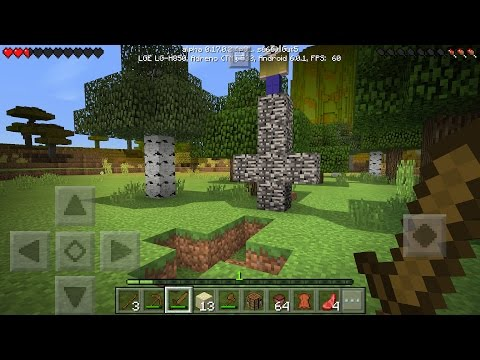 O Lick está aqui estou com muito medo mas vou matá-lo  !! Minecraft Pocket Edition