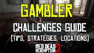 ♠️🎲 Red Dead Redemption 2 - All 10 Gambler Challenges | Tips, Strategies & Locations 🎲♠️
