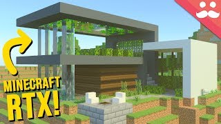 Building my Dream Home in Minecraft RTX