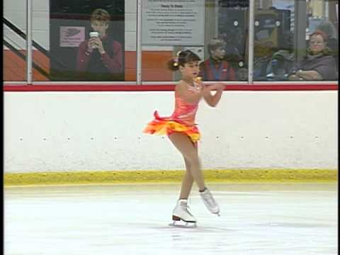 Alexita's ice skating competition Anaheim 2011