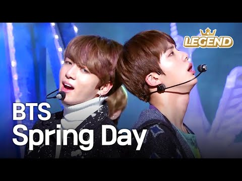Free Download Bts - Spring Day | 방탄소년단 - 봄날 [music Bank Hot Stage / 2017.02.24] Mp3 dan Mp4