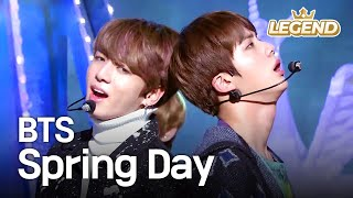 Download Mp3 Bts - Spring Day | 방탄소년단 - 봄날  Music Bank Hot Stage