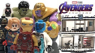 LEGO Avengers Endgame Compound Battle review! 2019 set 76131!
