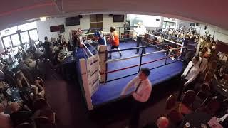 Ultra White Collar Boxing | Sheffield | Rick Slim Shady VS Nick Hall