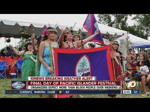 Final day of the Pacific Islander Festival