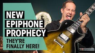 Epiphone Prophecy 2020 | Fishman Fluence Pickups ! |Thomann
