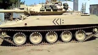 M551 Sheridan Light Tank 2nd run after 20 years sitting