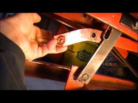 Wheel Horse Down Pressure Bar