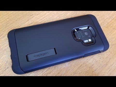 newest collection 30194 29b74 Spigen Tough Armor Galaxy S9 Case Review - Fliptroniks.com