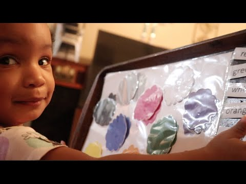 Toddler Learning! The Queen Of Kings Episode 2: Making A Book For The Girls.
