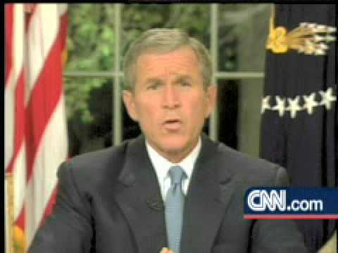 bush 911 speech essay In this post 9/11 speech, which aired only a few hours after the last attack, the president not only gave a short state of the union, he also offered condolence to the country, all while.