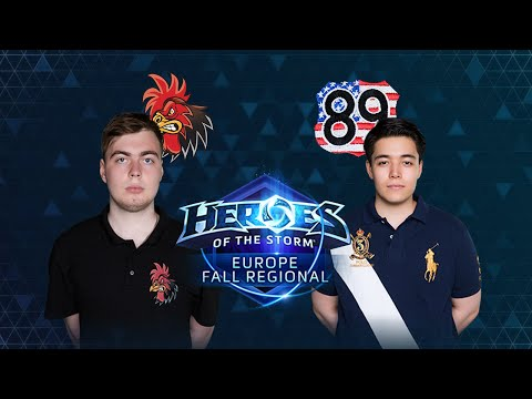 HOTS - Crowing Chickens Vs TEH89 - Game 3 - Group B - Europe Fall Regional
