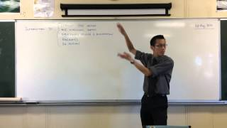 Overview of All HSC Motion Topics