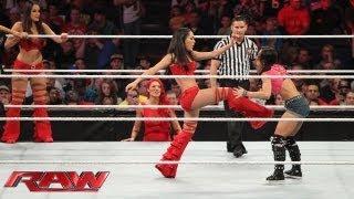 Download Natalya, Brie Bella, Nikki Bella, Cameron & Naomi vs. AJ Lee, Aksana, Layla, Alicia Fox & Tamina: Ra Mp3 and Videos