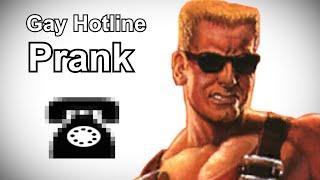 Duke Nukem Calls the Gay Hotline - Duke Nukem Prank Call