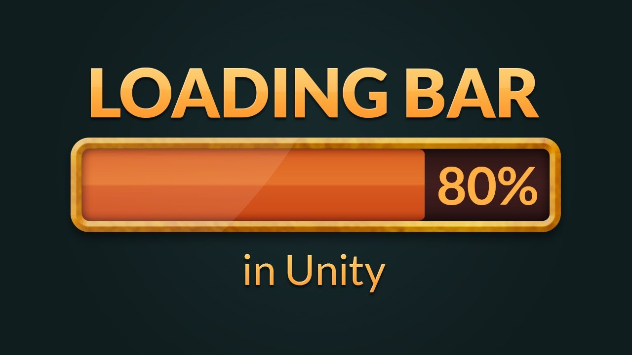 How to make a LOADING BAR in Unity