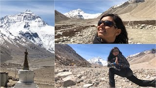 Getting to Mount Everest Base Camp China Tibet Episode 2 Video  | Bhavnas Kitchen