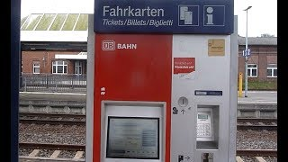 HOW TO ! Buying train ticket from the machine in Germany