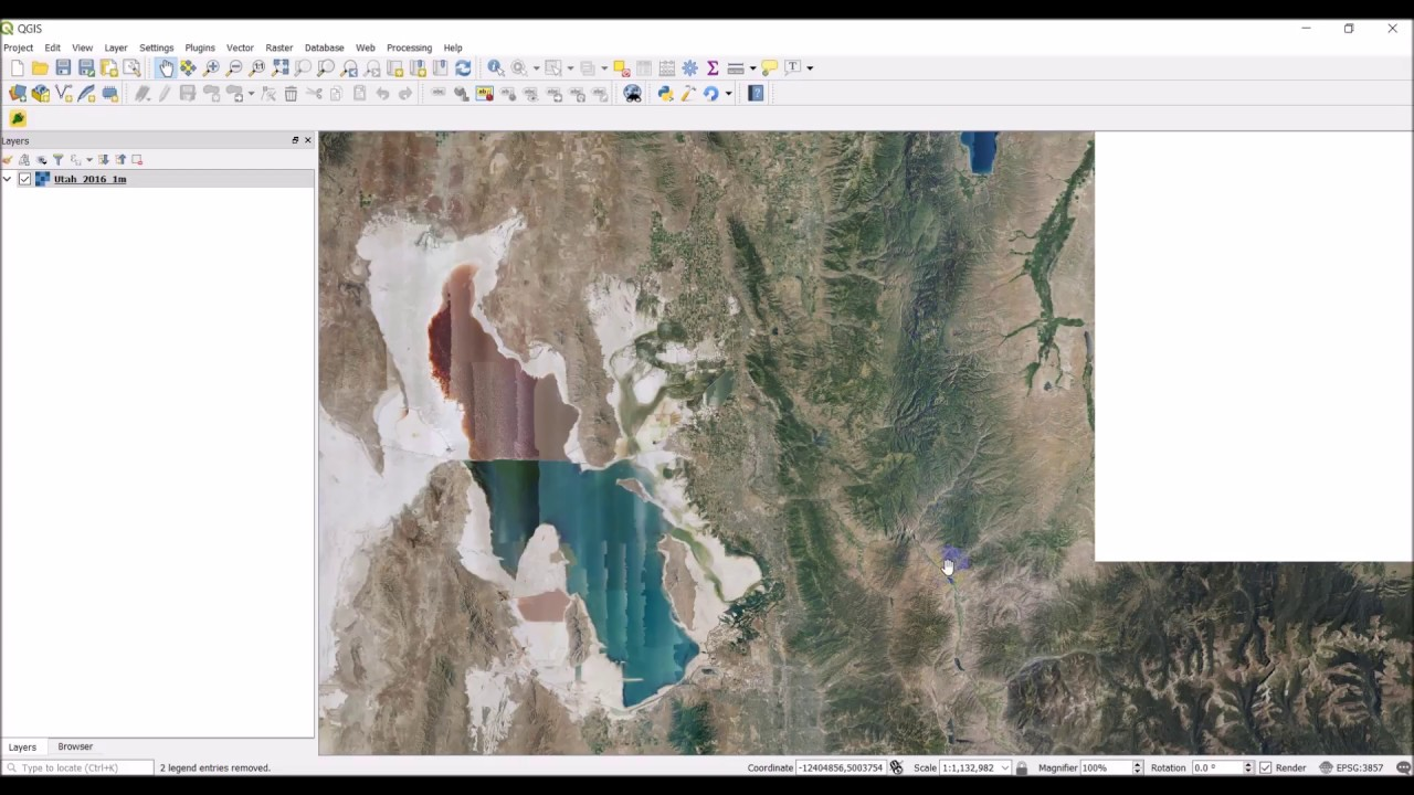 Add basemap from Web Map Service (WMS) Server to QGIS
