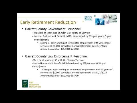 2019 Retirement Seminar Human Resources Garrett County