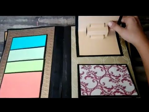 How to make an easy scrapbook for school projects