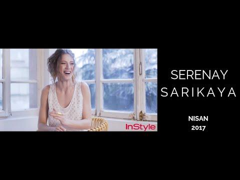 Serenay Sarıkaya - InStyle Nisan 2017 - Kamera Arkası