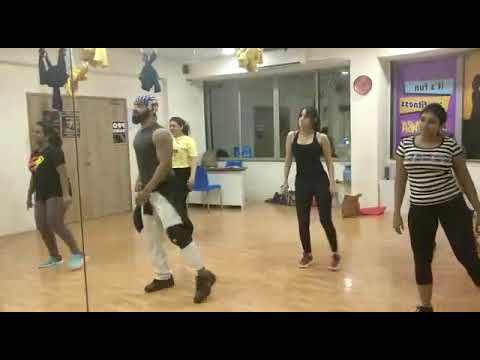 (Apdi Pode)tollywood Song Workout With Irfan At Zenergy