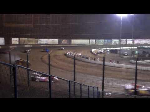 IMCA Modifieds - Heat Race 2 - Perris Auto Speedway 10.29.16