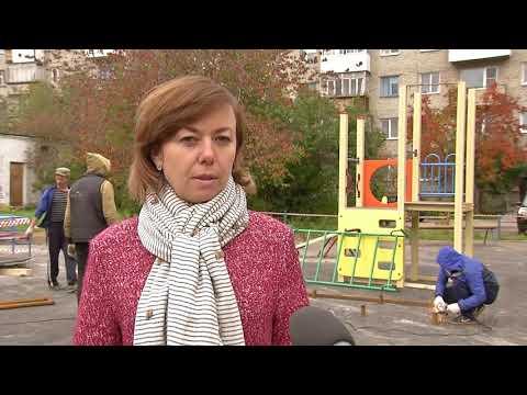Новенькую детскую площадку скоро откроют по адресу Ленина, 130