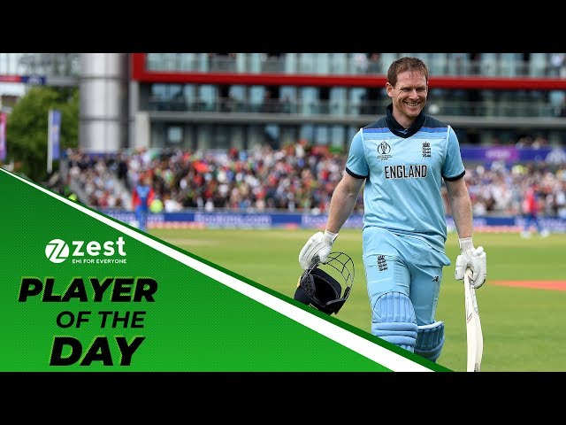 Player of the day: Eoin Morgan