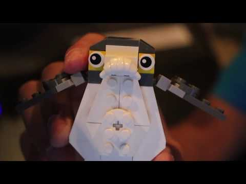 AbbieDabbles Porg Custom Lego Set Unboxing - TheCoasterCasters