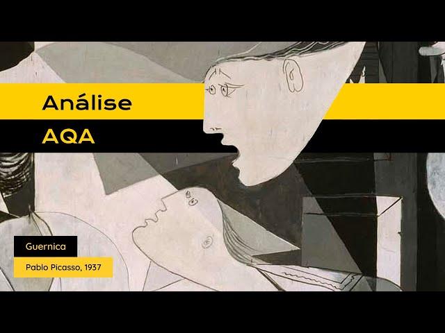 #análiseAQA Guernica, de Pablo Picasso