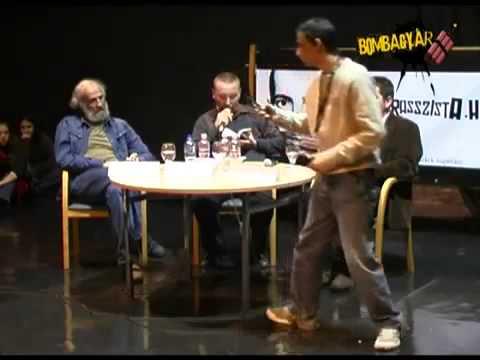 Mérő László - Tomcat vita az Antirasszizmuson