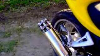 Tailgunner Exhaust on SV650