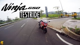 Testride (bukan review) Kawasaki Ninja 650/ER6F - Motovlog #52