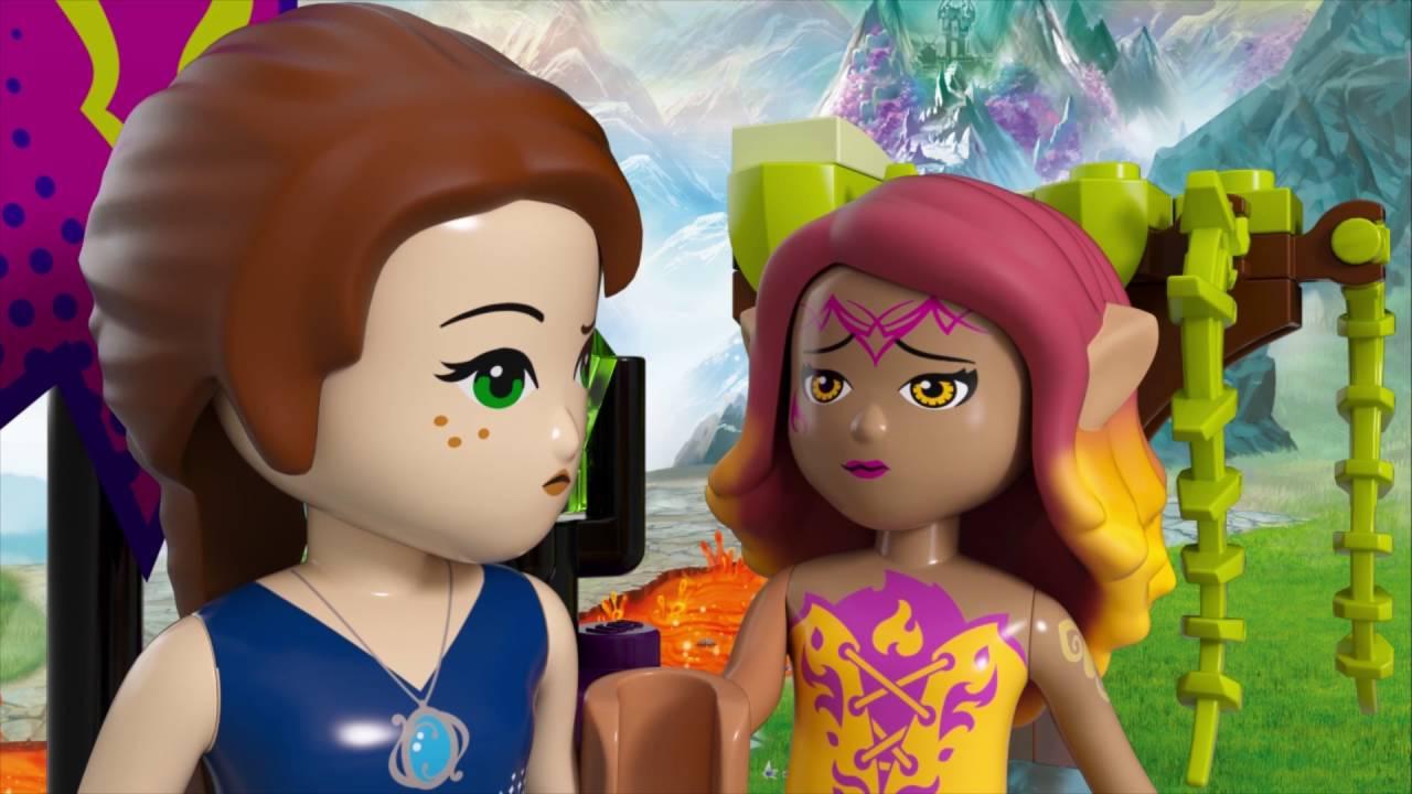 Queen Dragon S Rescue Lego Elves 41179 Youtube