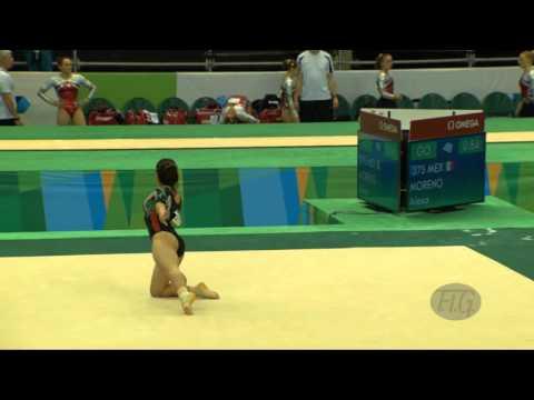 MORENO Alexa (MEX) - 2016 Olympic Test Event, Rio (BRA) - Qualifications Floor Exercise