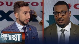 Texans win over Colts enormous in AFC South, Packers will beat the 49ers | NFL | FIRST THINGS FIRST