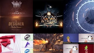 Top 10 intro logo Template Free After Effects 2018 🙆♂️