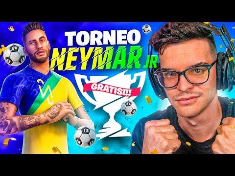 JUGANDO TORNEO *NEYMAR* CON PREMIOS DE FORTNITE! - CreativeSergi