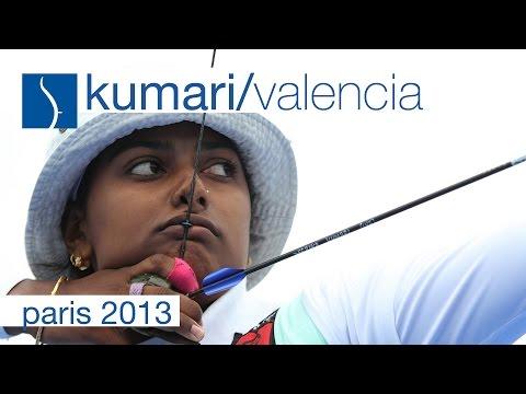 Valencia v Kumari – Recurve Women's Semifinal |Paris 2013
