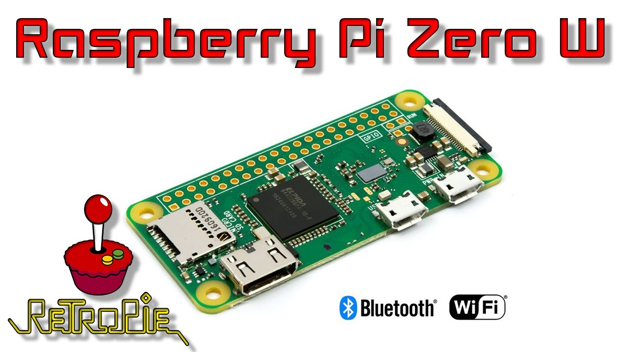 Raspberry pi Zero W Quick Look And RetroPie Test - YouTube