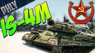 Best Armour Worst Gun - Is-4m Heavy Tank ( War Thunder Tanks Gameplay)