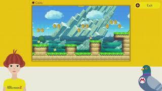 11 - Coins ~ Beginner Maker Lessons ~ Yamamura's Dojo - Super Mario Maker 2 - No Commentary