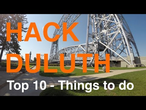 Hack Duluth | Duluth TOP 10 Things To Do And TOP 3 Places To Eat According To TripAdvisor