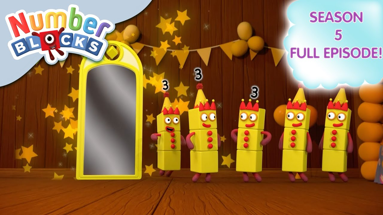 Download @Numberblocks   Full Episodes   S5 EP19: Too Many Threes