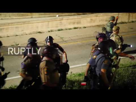 USA: 18 arrested at protest against acquittal of officer who shot Philando Castile in St. Paul