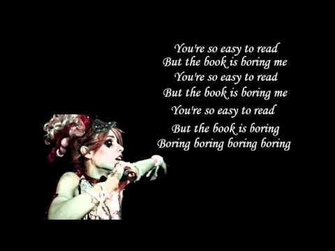 Misery Loves Company - Emilie Autumn (with lyrics)